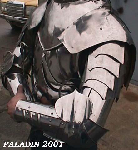 Доспехи рыцаря своими руками